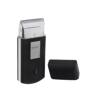 Бритва-мини MOSER Travel Shaver Akku 230V 50Hz black/silver